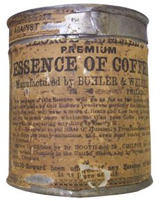 There are several threads on Essence of Coffee. Description from civilwartalk.com. I searched for this on bing.com/images