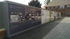Digitally Printed Aluminium hoarding on School under refurbishment, Hoarding included anti-graffiti laminated for extra protection against vandalism. Royal Charter, Safe Schools, King's College, Independent School, Music School, New Classroom, Free Advertising, Going To Work, School Projects