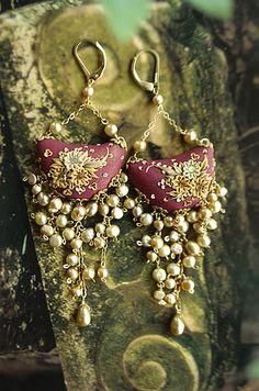 sedona...moonlight...earrings by jennifermorris, via Flickr