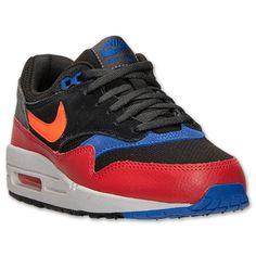 Kids' Grade School Nike Air Max 1 Running Shoes - 555766 024 | Finish Line braylon
