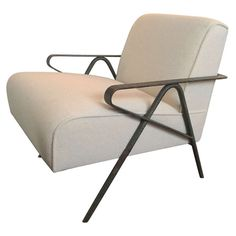 Shop lounge chairs and other antique and modern chairs and seating from the world's best furniture dealers. Find Furniture, Vintage Furniture, Modern Furniture, Furniture Design, Metal Chairs, Cool Chairs, Eames Chairs, Lounge Chairs, Bar Lounge