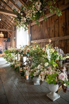 JG Pageau & Camille Beeby Wedding  #headtable #rusticwedding #barnwedding #luxurywedding #wedding #bridal #weddinginspo #weddingvenue Luxury Wedding, Rustic Wedding, Floral Wedding, Wedding Flowers, Pampas Grass, Social Events, Open House, Event Design, Event Planning