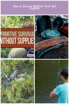 survival skills DIY How to Survive Without Tools And Supplies