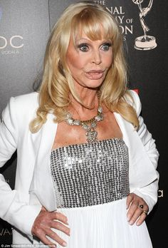 Britt Ekland is a perfect example of too much money and too many insecurities.