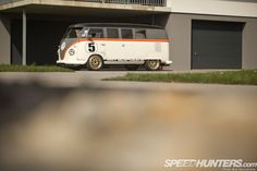RACE-TAXI: THE PORSCHE BI-TURBO BUS - Speedhunters