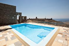 The Orange House, a #vacation villa with private swimming pool http://www.tinos-habitart.gr/orange-house.php