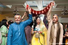 Chicago, Illinois Pakistani Wedding by Maha Designs