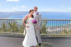 Your On Top Of The World Wedding Venue in Lake Tahoe!  Get married in Lake Tahoe at our Gondola Wedding Venue. #laketahoeweddings #skiresortweddings #heavenlymountainresort