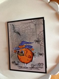 Halloween Crazy Birds by Carolinakathy - Cards and Paper Crafts at…