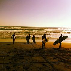 The EcoCamp/Cascada office staff hit the beach in Matanzas for some surfing! #surf #chile #travel