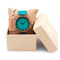 Crawford - Zebrawood Wood Wooden Watch FREE Shipping Worldwide