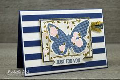 The Stamping Blok: Night of Navy Floral Wings