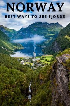 Norway fjords travel guide - the fjords near Bergen and Flam are an unforgettable sight. Here are the best ways to explore the Sognefjord, Aurlandsfjord and Nærøyfjord. The fjords must be on any Norway itinerary #norway #fjords #travelguide #traveltips #nordictravel #scandinavia Voyage Europe, Europe Travel Guide, Travel Guides, Travel Packing, Travel Diys, Travel Backpack, Travel Essentials, Norway Travel Guide, Packing Hacks