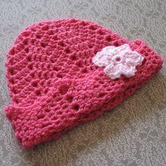 Ripple Hat ~ free crochet pattern