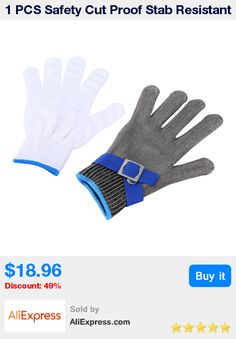 Camping & Hiking Professional Sale Anti-cut Gloves Safety Cut Proof Stab Resistant Stainless Steel Wire Metal Mesh Cut-resistant Safety Gloves Outdoor Multi Tools