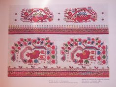 Bulgarian Embroidery: Shirt Sleeves - Kiustendil region Ръкави на ризи...