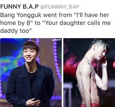 Yongguk hot damn    #bap#bapfunny#yongguk#himchan#daehyun#youngjae#jongup#zelo#kpop#bap