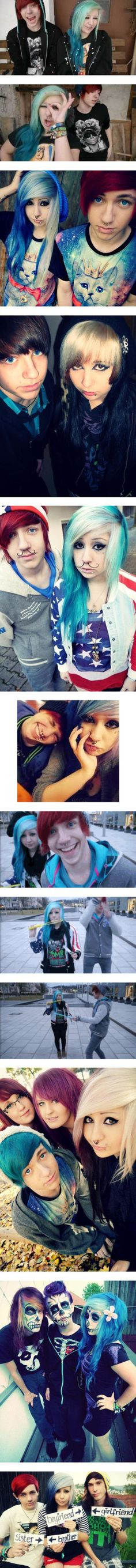 """""""Me and my little bro Maxy"""" by verena-schizophrenia ❤ liked on Polyvore"""