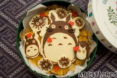 Totoro, Postres, Food Styling