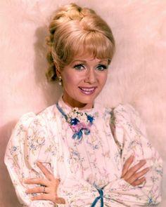 Debbie Reynolds,  pretty in pink.