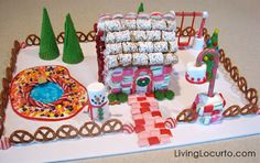 Good ideas for decorating gingerbread houses
