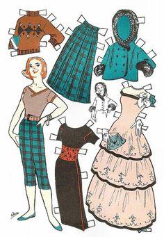(⑅ ॣ•͈ᴗ•͈ ॣ) ✄Jack and Jill ~ October 1957 ~ Growing-up Dolls