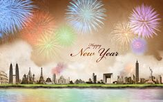 happy new year wallpaper hd Wallpaper HD Wallpaper