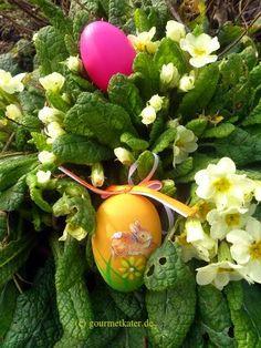 Gourmetkaters Garten: Oster-Dekoration zur Probe #easter #ostern