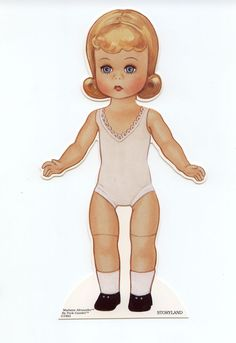 Story Land Madame Alexander - Peck Doll