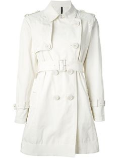 Moncler Belted Trench Coat - Nugnes 1920 - Farfetch.com
