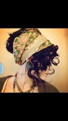Gypsy hair! Last minute costume idea?