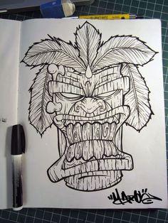 #tiki mask