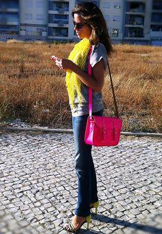 Stella Rittwagen Satchel Bag, Zara Strap Sandals, Dkny Sunglasses