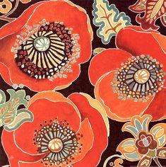 Moroccan Red V Fine-Art Print by Daphne Brissonnet at UrbanLoftArt.com