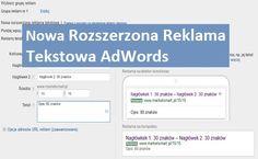 Powiedz internautom więcej za pomoca reklamy tekstowej.