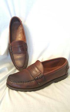 Allen Edmonds Rockland sz 10.5 D dark brown leather penny loafer casual shoe USA | Clothing, Shoes & Accessories, Men's Shoes, Casual | eBay!