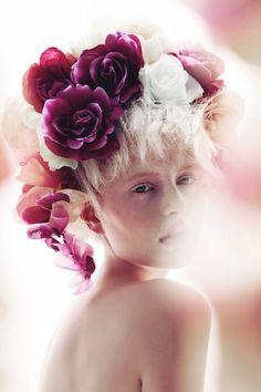Klaudyna @ GAGA and Viktoria @Milkman Amok for Nymph series in Beauty Scene by fashion photographer Maciej Bernas with BOOM TEAM