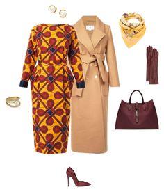 """#moodOftheDay"" by vilush on Polyvore featuring мода, Carven, Stella Jean, Gucci, Kate Spade, Giuseppe Zanotti, Hermès и Lanvin"