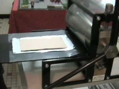 Kitchen Litho - must use REAL ink. Water soluble ink does not work.