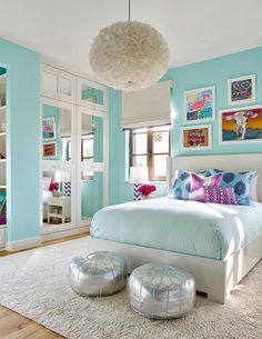 20+ Turquoise Room Decorations – Aqua Exoticness Ideas and Inspirations  Looking for turquoise room gallery? Visit the web!  #Turquoise #Aqua #RoomColorIdeas #RoomColor #TurquoiseRoom