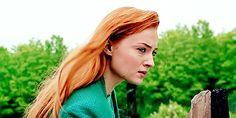 Sophie Turner as Jean Grey in X-Men: Apocolypse
