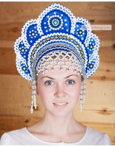 21 Best Russian traditional headwear images in 2019  91c1d0d6655