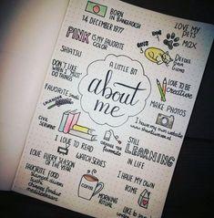 56 Ideas for art journal ideas doodles smash book lettering #book #art