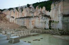 La Cava di pietra leccese  #architettura #edilizia #ceramiche #arredi #design #casa #home #style #giardino #marrocco #pietraleccese #Salento #Lecce #Apulia