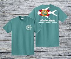 Halocline Florida Permit T-shirt