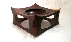 Paolo Ceresi - Winged Cocobolo bowl