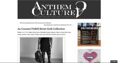 Anthem Culture Article  http://www.AuCourant.co #aucourantparis #aucourant #aucourantwoman #paris #fashion #menswear #womenswear #anthemculture