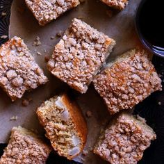 Brown Butter Pear Crumb Cake - an easy and delicious fall cake!
