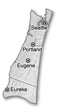 """September 2012 Long-Range Weather Forecast for Pacific Northwest from The Old Farmer's Almanac: SEPTEMBER 2012: temperature 64° (3° above avg.); precipitation 2.5"""" (0.5""""above avg. north, 2"""" above south); Sep 1-4: Rainy periods, cool; Sep 5-9: Sunny, turning hot; Sep 10-16: Scattered showers, warm; Sep 17-21: Sunny, very warm; Sep 22-28: Rainy periods, cool, then warm; Sep 29-30: Showers, mild."""