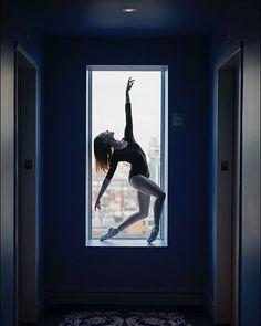 #Ballerina - @brookelockett #HappyBirthday #ballerinaproject_ #ballerinaproject #ballet #dance #window